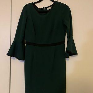 NY&Co green career dress - medium